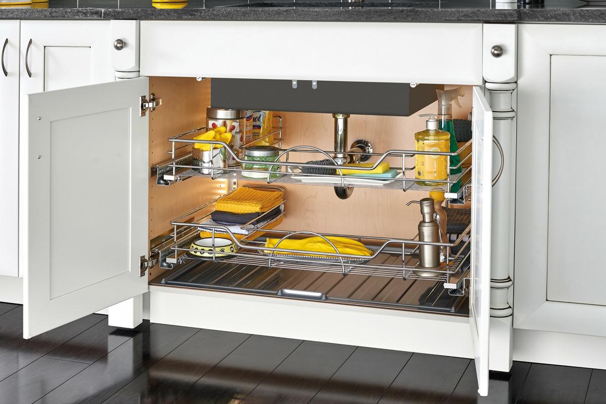 Хранение бытовых кухонных электроприборов и бытовой химии